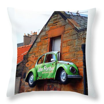 Parking Problem Throw Pillow by Richard James Digance