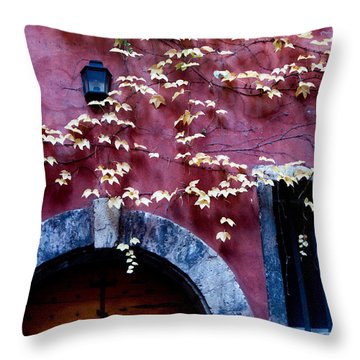 Paroisse Orthodoxe Throw Pillow
