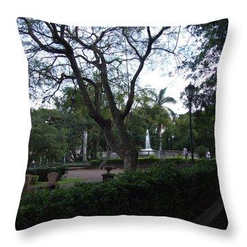 Parque Throw Pillow