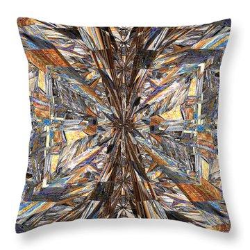 Parquet Mania Throw Pillow by Tim Allen