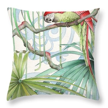 Parrot, 2008 Throw Pillow