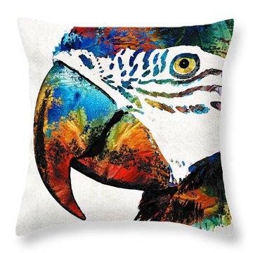 Naples Beach Throw Pillows