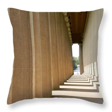 Parthenon1 Nashville Tn Throw Pillow