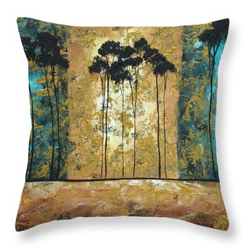 Parting Of Ways By Madart Throw Pillow by Megan Duncanson
