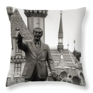 Partners II Throw Pillow