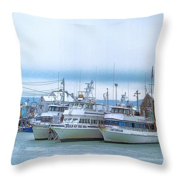 Throw Pillow featuring the photograph Party Ice by Constantine Gregory