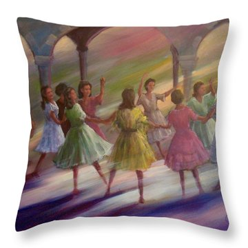 A Graduation Party  Throw Pillow