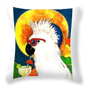 Party Parrot 1 Throw Pillow