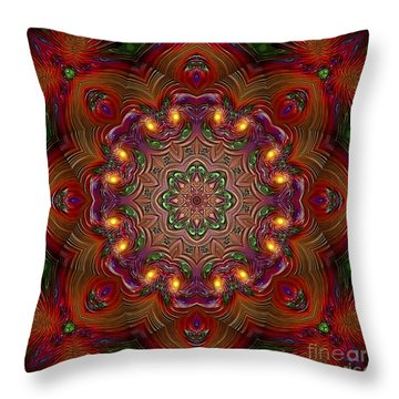 Throw Pillow featuring the digital art Party Time 3 D Art by Hanza Turgul