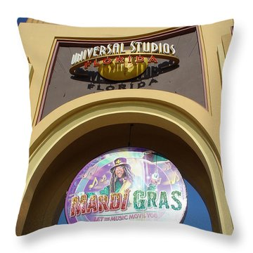 Throw Pillow featuring the photograph Party Time by David Nicholls