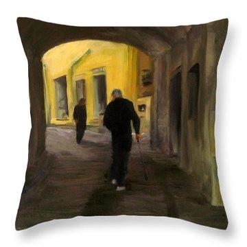 Passage Throw Pillow by Connie Schaertl