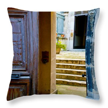 Passages Throw Pillow