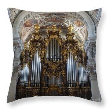 Passau Cathedral Saint Stephan 2 Throw Pillow