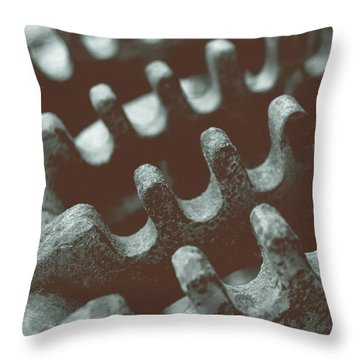 Throw Pillow featuring the photograph Passing Gears by Steven Milner