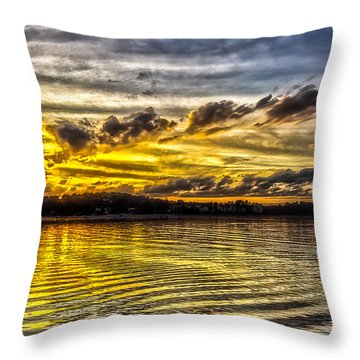 Passing Storm Two. Throw Pillow
