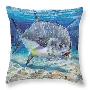 Passing Through In009 Throw Pillow by Carey Chen