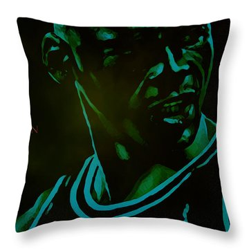 Throw Pillow featuring the digital art Passion by Brian Reaves
