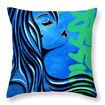 Passion By Fidostudio Throw Pillow by Tom Fedro - Fidostudio