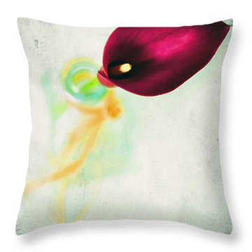 Passion Throw Pillow by Darren Fisher