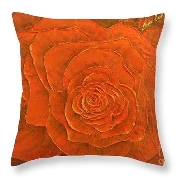 Passion II Throw Pillow