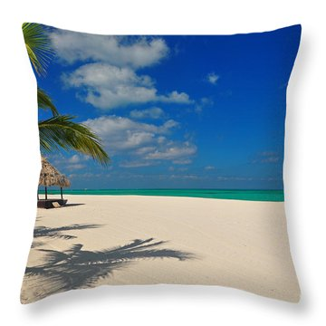 Passion Island Throw Pillow