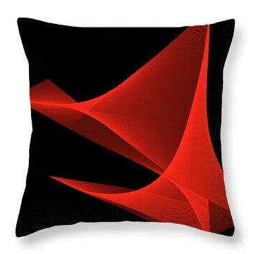 Passion Throw Pillow by Karo Evans