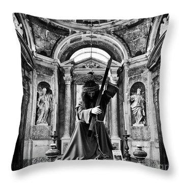 Passion Of Christ Throw Pillow by Jose Elias - Sofia Pereira