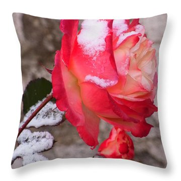 Passion Of Life Throw Pillow