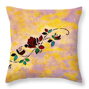 Passion Pieces Throw Pillow