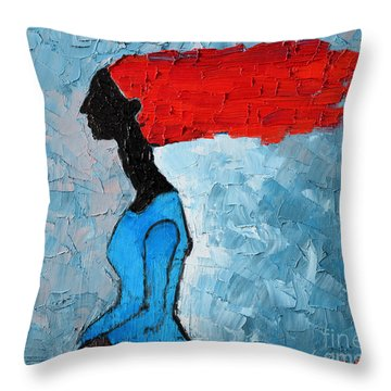 Passion Seeker Throw Pillow