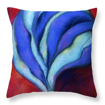 Passion Throw Pillow by Susan Will