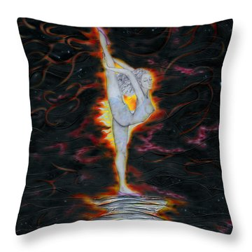 Passion Within Throw Pillow
