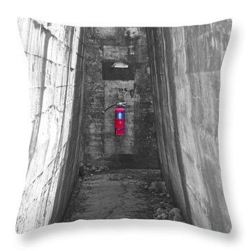 Past Emergency Throw Pillow