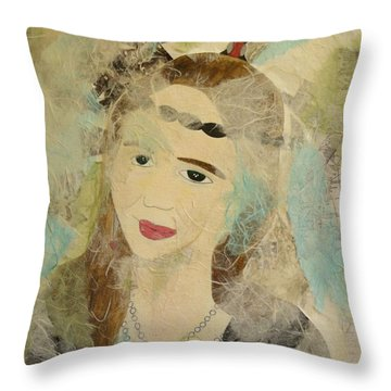 Past Life Self 3 Throw Pillow