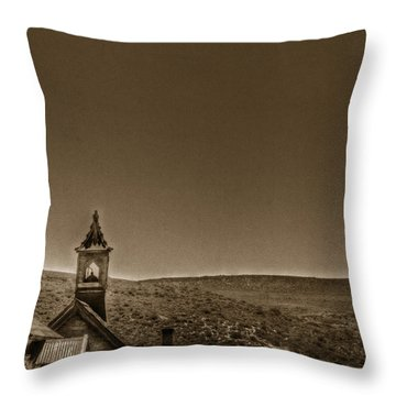 Past Throw Pillow by Margie Hurwich