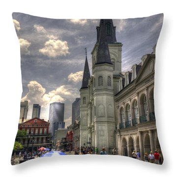 Throw Pillow featuring the photograph Past Present Future by Greg and Chrystal Mimbs