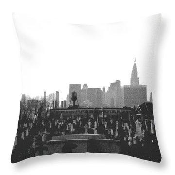 Past Present Future Throw Pillow