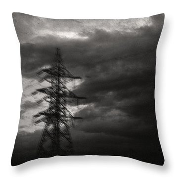 Past Throw Pillow by Taylan Apukovska