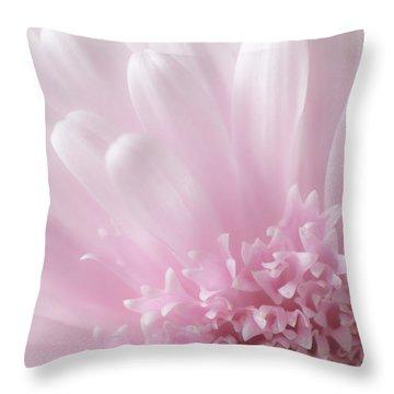 Pastel Daisy Throw Pillow