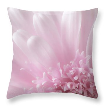 Pastel Daisy Throw Pillow