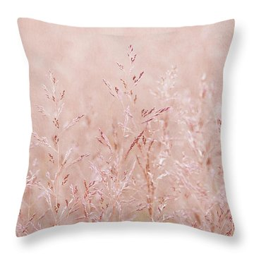 Pastel Nature Throw Pillow by Svetlana Sewell