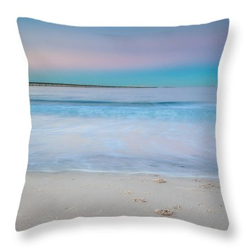 Pastels Throw Pillow
