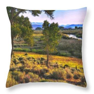 Pastoral Nevada Throw Pillow