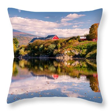 Pastoral Reflection Throw Pillow