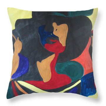 Patchwork Velvet Throw Pillow