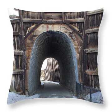 Path In History Throw Pillow