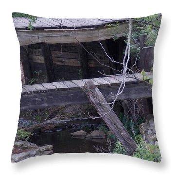 Path Less Taken Throw Pillow by John Glass