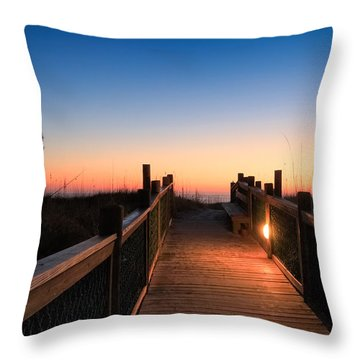 Path To A New Day Throw Pillow