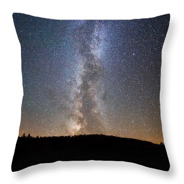 Path To Our Galaxy   Throw Pillow