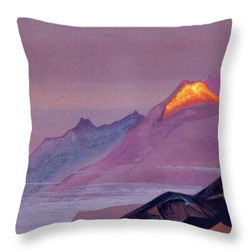 Path To Shambhala Throw Pillow
